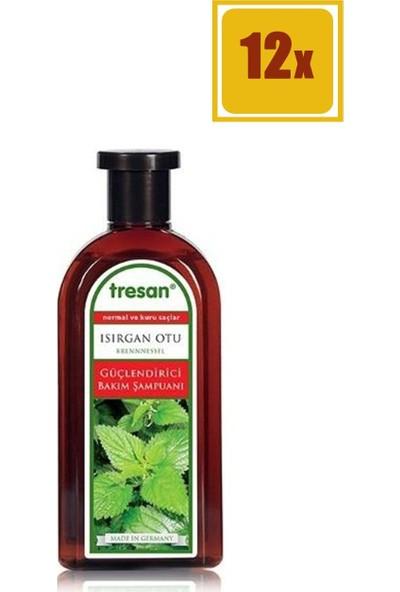 Tresan Isırgan Otu Normal ve Kuru Saçlar İçin 500 ml Şampuan 12'li Set