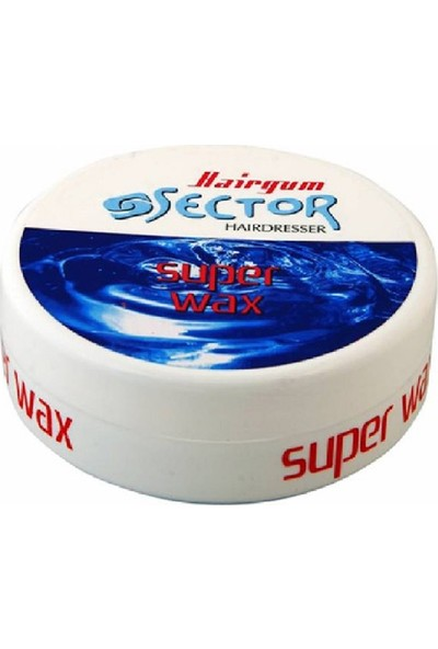 Sector Hairgum Ultra Strong Wax 150 ml 18'li Set