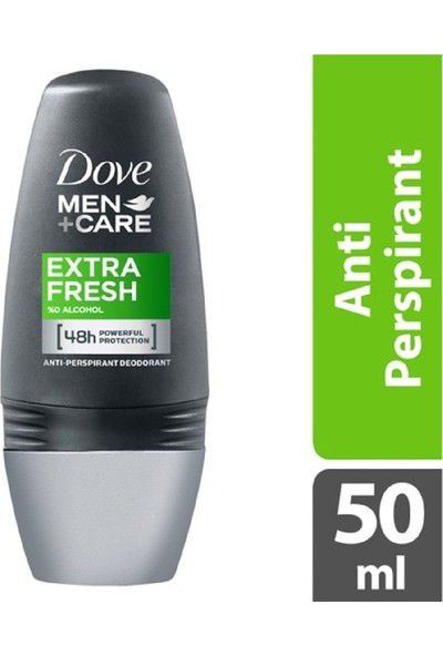 Dove Men Deodorant Roll On Extra Fresh 50 ml 6'lı Set