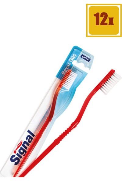 Signal Beyaz Güç Diş Fırçası 12'li Set