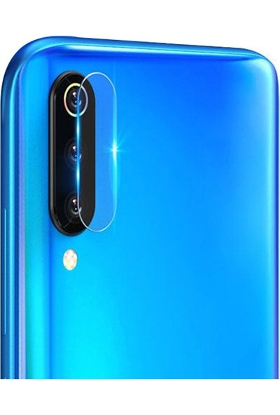 Ally Galaxy A50, A70 Yüksek Çözünürlüklü Kamera Lens Koruma Camı Şeffaf