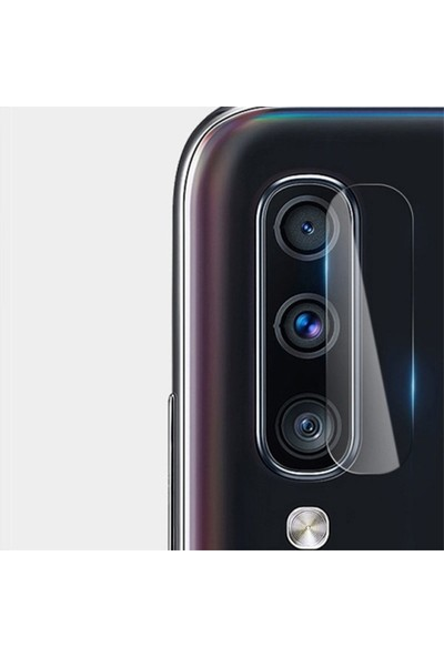 Ally Galaxy A60 Yüksek Çözünürlüklü Kamera Lens Koruma Camı Şeffaf