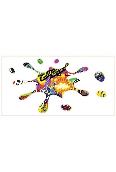 Gecko Stıcker Bomb Sticker Damla Logo Çıkartma Etiketi 3D