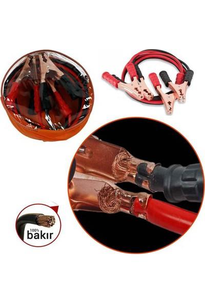 Gecko Akü Takviye Kablosu 800 Amper Taşıma Çantalı + Hediye
