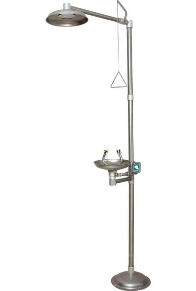 Naxoflex ODK1710-1D Göz ve Vücut Duşu 304 Krom Paslanmaz