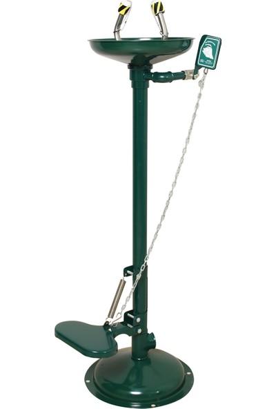 Naxoflex ODK1710-2A Göz Duşu Galvaniz Çelik Zemine Monte Fırın Boyalı