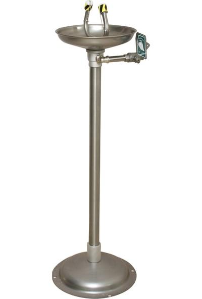 Naxoflex ODK1710-2D Göz Duşu 304 Krom Paslanmaz Zemine Monte