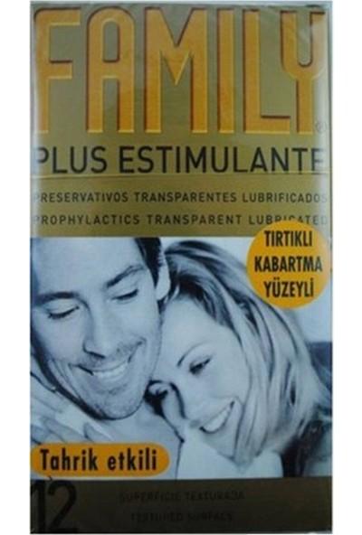 Family Kabartma Yüzeyli Prezervatif 12'li 10'lu Set