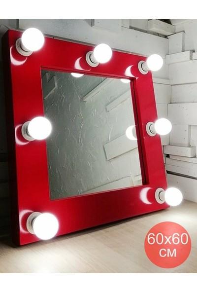 Masalina Masal Kirmizi Işikli Ayna 60 x 60 cm