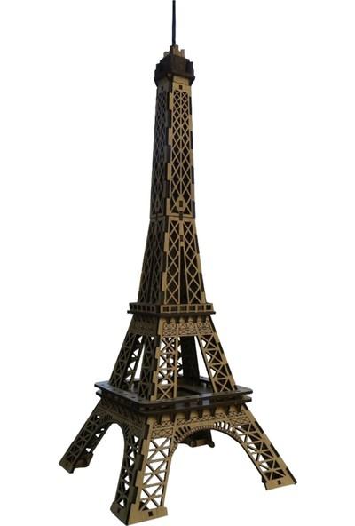 Pershang Ahşap Tarihi Eyfel Kulesi 3D Yapboz