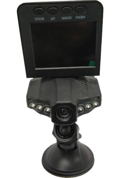 Primuscam 720P Hd Kayıt Özelliği 6 Ledli Gece Görüşlü LCD Araç İçi Kamera