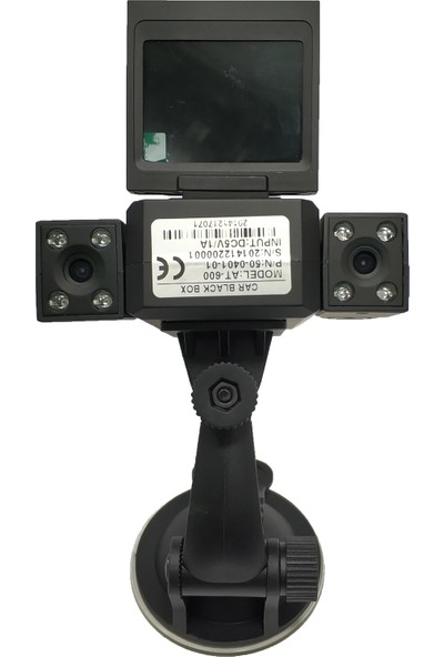Primuscam Çift Yönlü Çift Kameralı Araç Kamera İçi Dışı Hd Gece Görüşlü