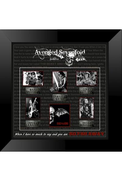 Sarpian Avenged Sevenfold Hail To The King Poster Çerçeve
