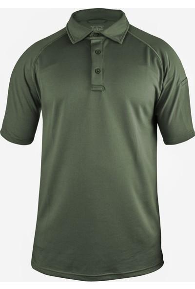 Sivugin Outdoor Polyester Taktikal Polo Yaka Tişört Erkek - Haki
