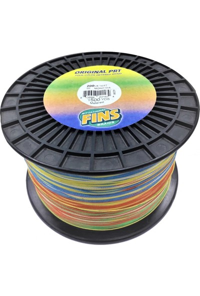 Fins Original Prt 200LBS 0,762MM. 1372MT. Multi Color