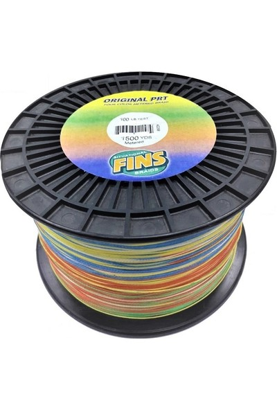 Fins Original Prt 100LBS 0.457MM. 1372MT. Multi Color