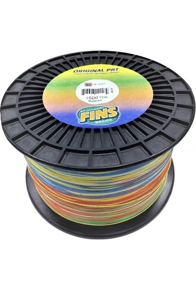 Fins Original Prt 80LBS 0.457MM. 1372MT. Multi Color
