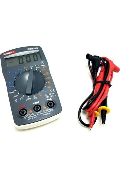 Range RE838B Dijital Multimetre Ölçü Aleti