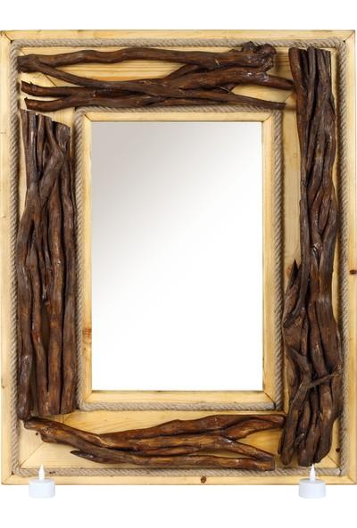 Ahşapevi Ahşap Ayna