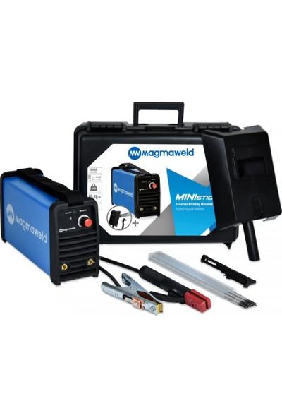 Magmaweld Ministick Deluxe Set 140 Amper Kaynak Makinası
