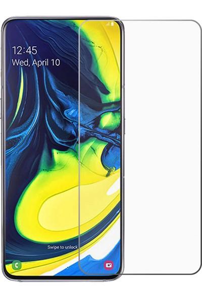 Notebookuzman Samsung Galaxy A80 Kırılmaz Ekran Koyuyucu Cam