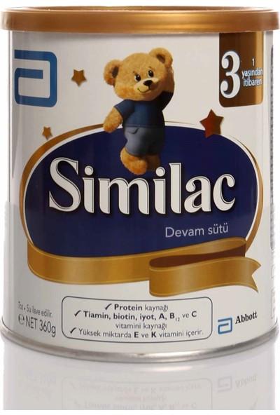Similac 3 Bebek Devam Sütü 360 Gr