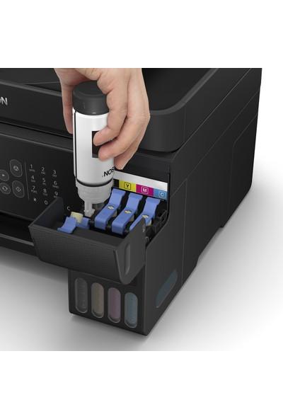 Epson EcoTank L5190 Tarayıcı + Fotokopi + Faks + Wi-Fi Direct + AirPrint Mürekkep Tanklı Yazıcı C11CG85403