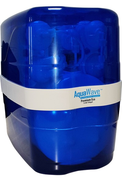 Global Water Solutions AquaWave Deluxe 3.2 Galon Pompasız Su Arıtma Cihazı - +1 Filtre Seti HEDİYE
