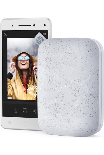 HP Sprocket 200 Fotoğraf Yazıcı Beyaz 1AS85A