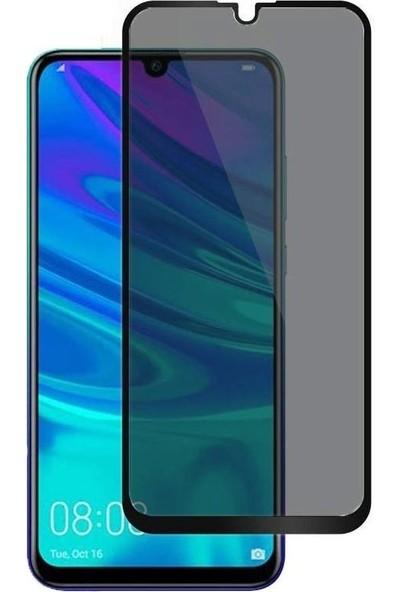 Teleplus Huawei P Smart 2019 Privacy Hayalet Cam Ekran Koruyucu Siyah
