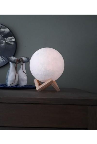 By-Lamp Dekoratif Ay Lamba 18 Cm