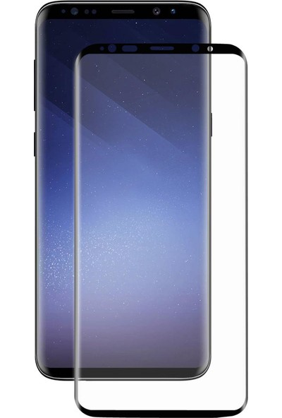 Monsterskin Samsung Galaxy S9 Pet 5D Full Kaplayan İnce Ultra Darbeye Dayanaklı Ekran Koruyucu