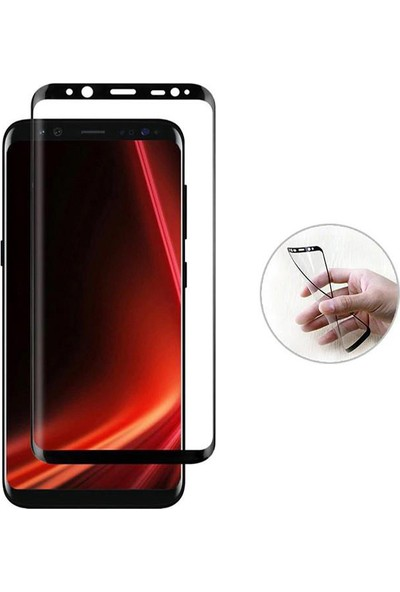 Monsterskin Samsung Galaxy S9 Plus Pet 5D Full Kaplayan İnce Ultra Darbeye Dayanaklı Ekran Koruyucu