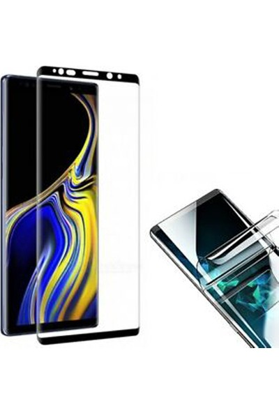 Monsterskin Samsung Galaxy Note 8 Pet 5D Full Kaplayan İnce Ultra Darbeye Dayanaklı Ekran Koruyucu