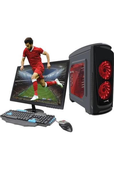 TURBOX ATM920060 Ryzen7 1700 8GB Ram 1TB Hdd 4GB GTX1050TI Ekran Kartı 21.5 Monitörlü Masaüstü Bilgisayar