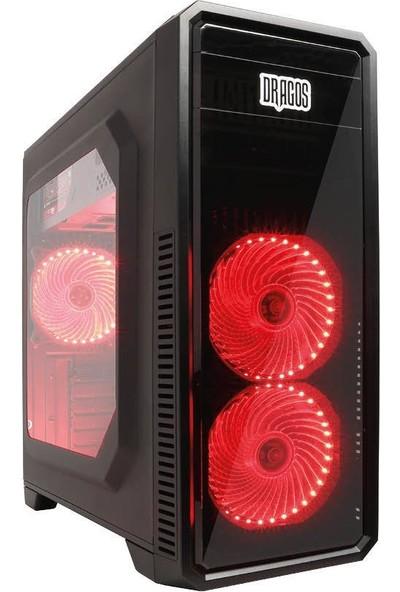DRAGOS ATM940100 Ryzen7 2700 4GB Ram 500GB Hdd 2GB GT1030 Ekran Kartı Masaüstü Oyun Bilgisayarı