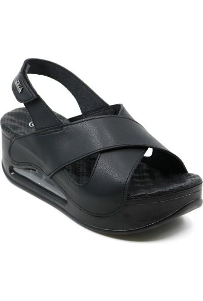 Muya 28287 Ortopedik Topuk Dikenine Özel Kadın Sandalet