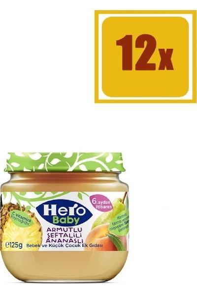 Hero Baby Armut Ananas Kavanoz Maması 125 gr 12'li Set