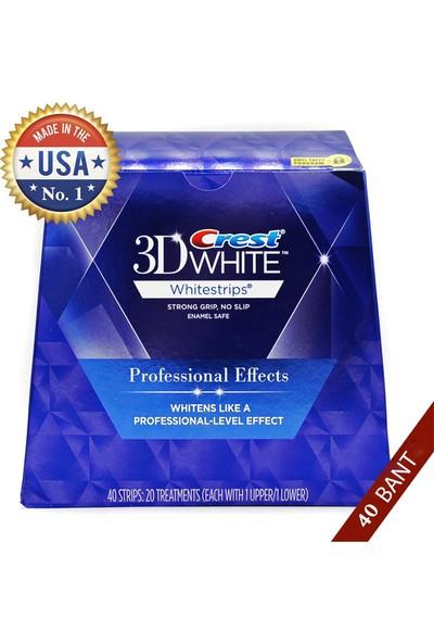 Crest 3D White Professional Luxe Diş Bantları (1 Kutu - 40 Bant)
