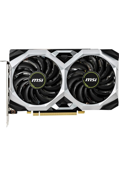 MSI Nvidia GeForce GTX 1660 Ti Ventus XS 6G OC 6GB 192Bit GDDR6 (DX12) PCI-E 3.0 Ekran Kartı (GeForce GTX 1660 Ti VENTUS XS 6G OC)