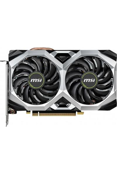 MSI Nvidia GeForce RTX 2060 Ventus XS 6G OC 6GB 192Bit GDDR6 (DX12) PCI-E 3.0 Ekran Kartı (GeForce RTX 2060 VENTUS XS 6G OC)