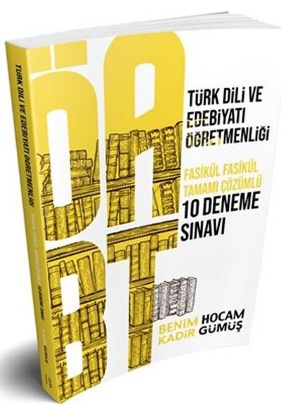 Benim Hocam Yayınları ÖABT Türk Dili Ve Edebiyatı Öğretmenliği Tamamı Çözümlü 7 Deneme Sınavı - Kadir Gümüş