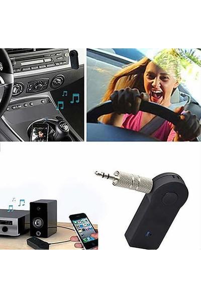 Bluetooth Aux Araç Kiti Telefon Görüşmesi ve Müzik Dinleme