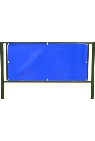 Pvc Polyester Balkon Brandasi (7 M x 65 Cm) 430GR M²