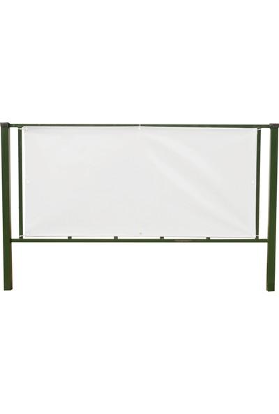 Pvc Polyester Balkon Brandasi (10 M x 65 Cm) 430GR M²