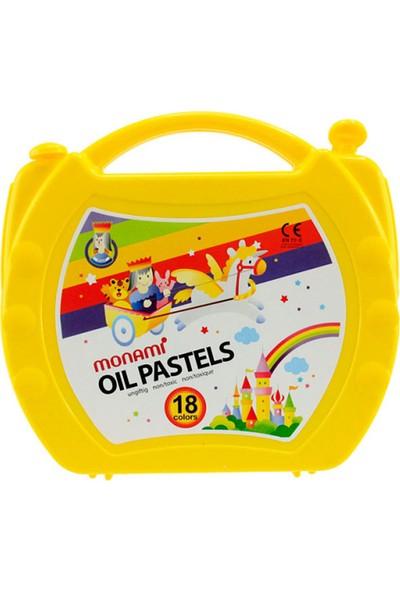 Monami Pastel Boya 18 Renk Çantalı