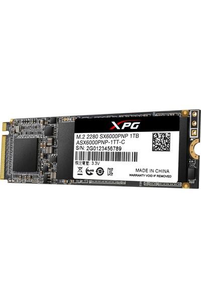 Adata XPG SX6000 Pro 1TB SX6000 Pro 2100MB/1500MBs PCIE M.2 NVMe SSD (ASX6000PNP-1TT-C)