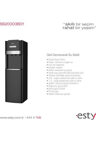 Esty SS20003B01 Gi̇zli̇ Damacanali Su Sebi̇li̇