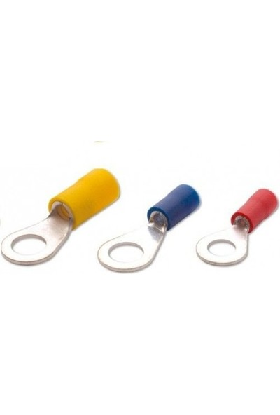 Maasco (500 Adet) Yuvarlak Tip Kablo Ucu 0.5-6 Mm2 Kablo M8