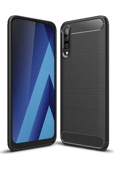 Beğenseç Galaxy A70 Kılıf Zore Room Silikon-Kırmızı